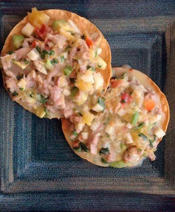 Delicious Ceviche of Sailfish