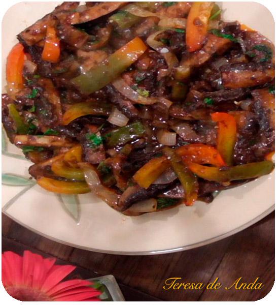 Vegetarian recipes with Teresa de Anda