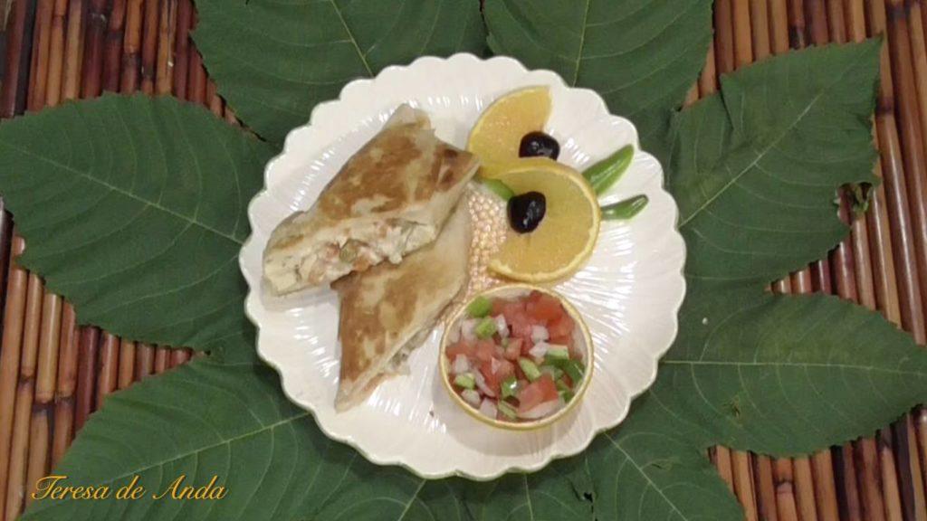 Crispy mexican tuna tacos