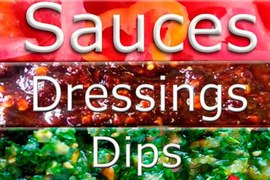 Sauces dressings dips